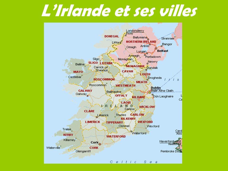 L'Irlande et ses villes