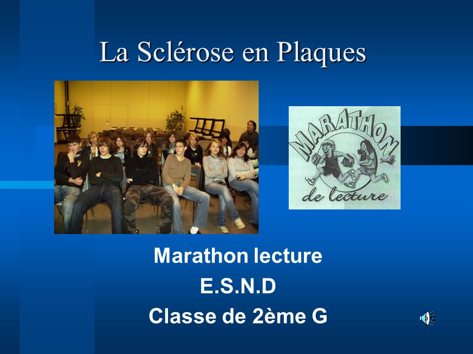 Marathon lecture E.S.N.D Classe de 2ème G