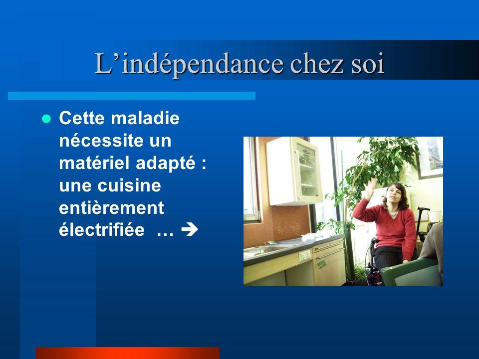 L'indépendance chez soi