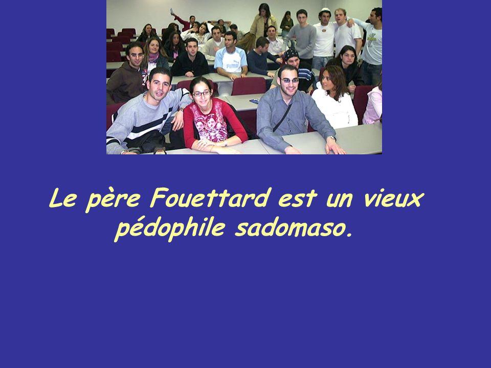 Le père Fouettard est un vieux pédophile sadomaso.