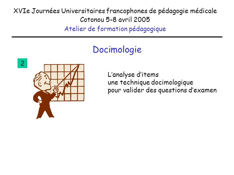 XVIe Journées Universitaires francophones de pédagogie médicale