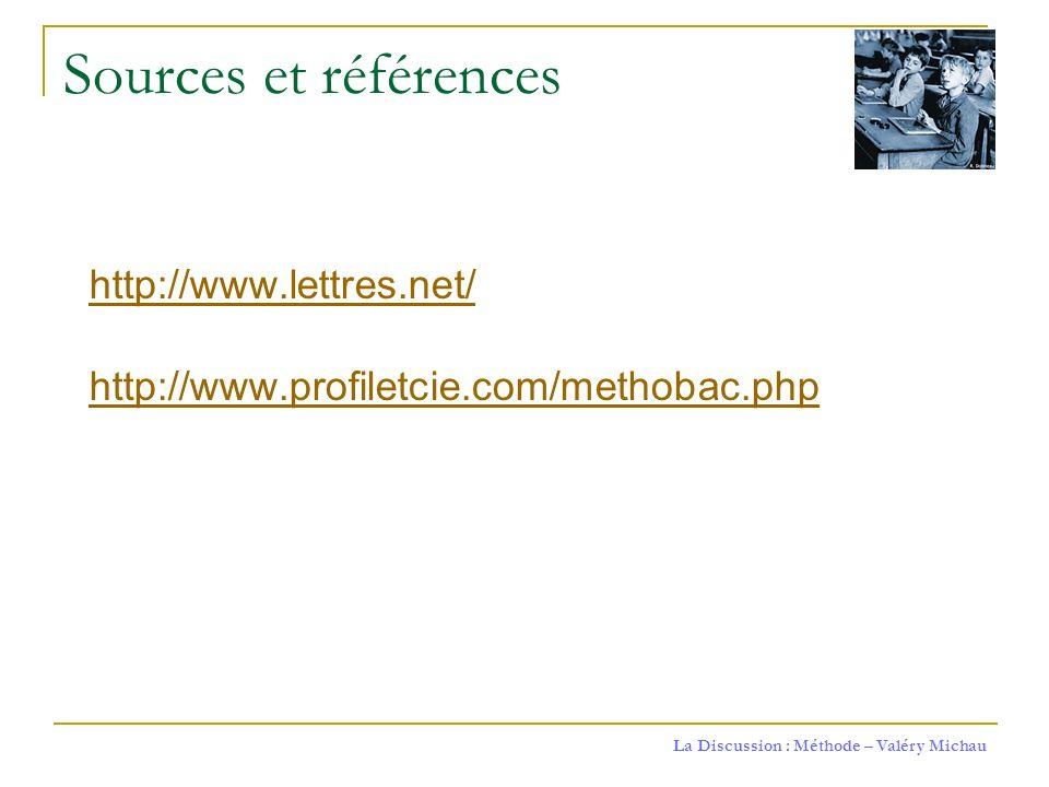Sources et références http://www.lettres.net/