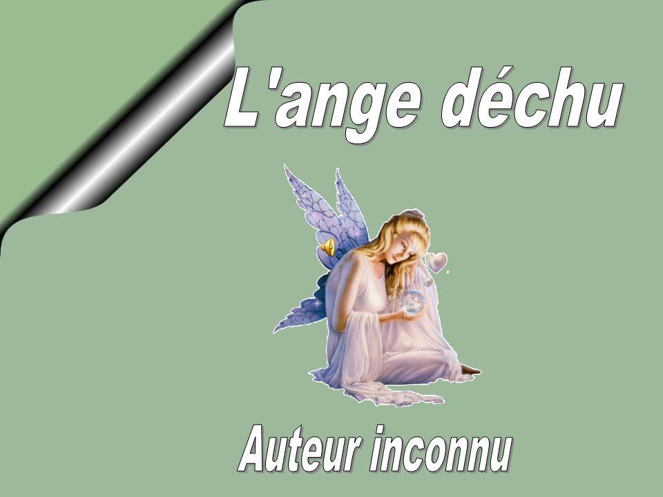 L ange déchu Auteur inconnu