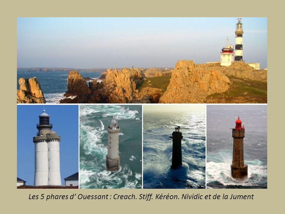 Les 5 phares d' Ouessant : Creach. Stiff. Kéréon