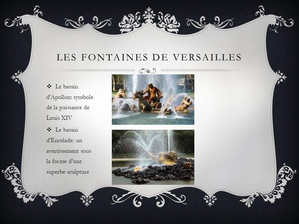 Les fontaines de versailles