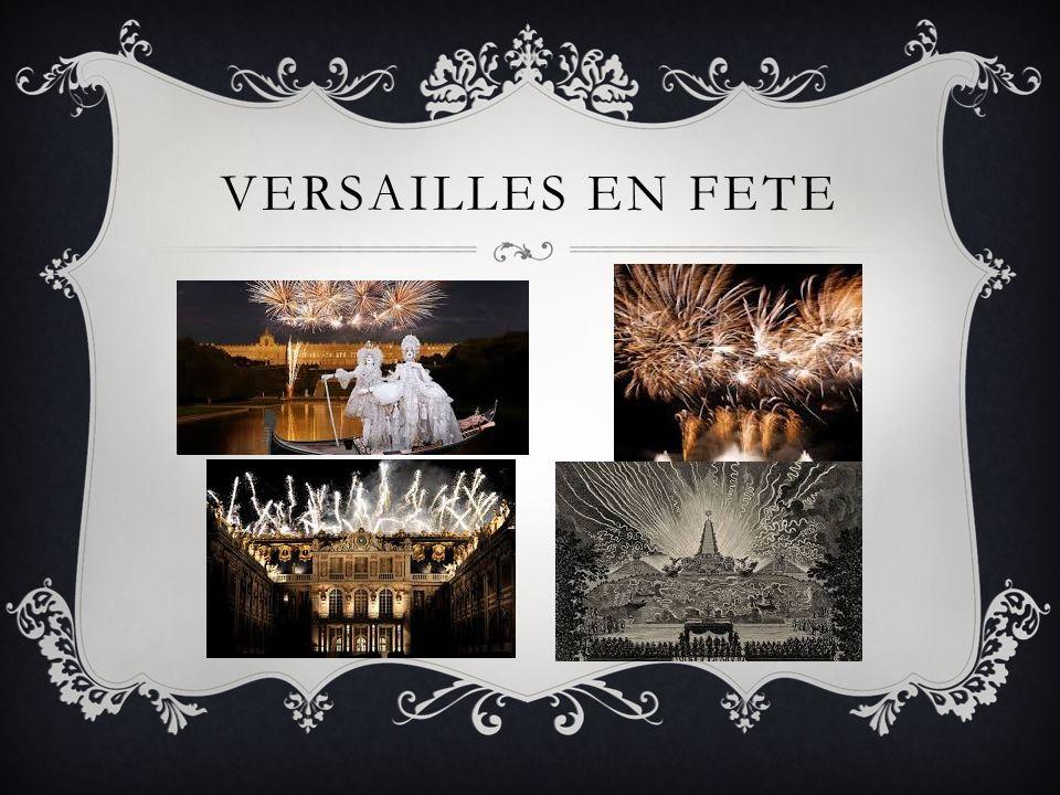 Versailles en fete