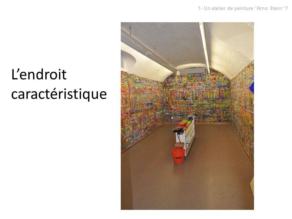 1- Un atelier de peinture *Arno Stern*