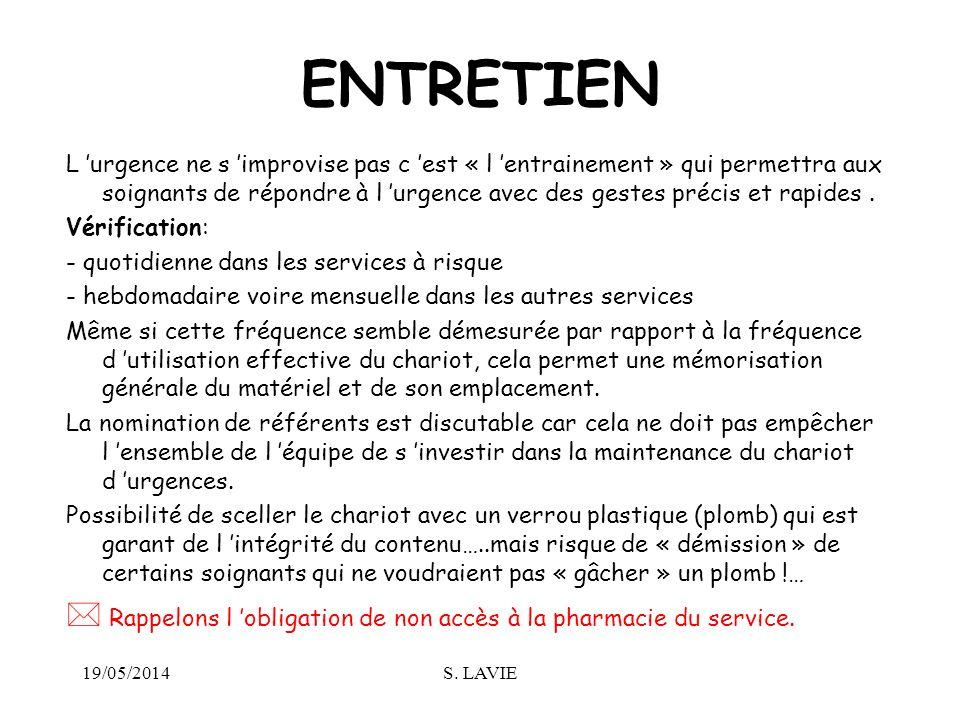 ENTRETIEN