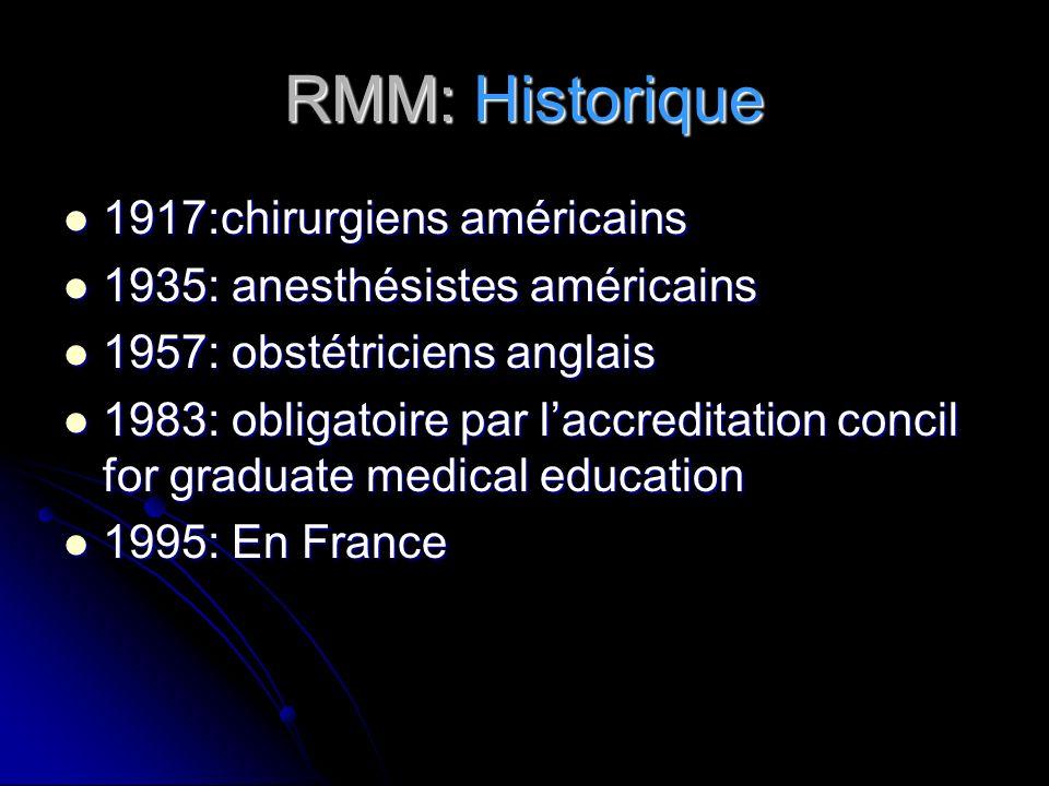 RMM: Historique 1917:chirurgiens américains