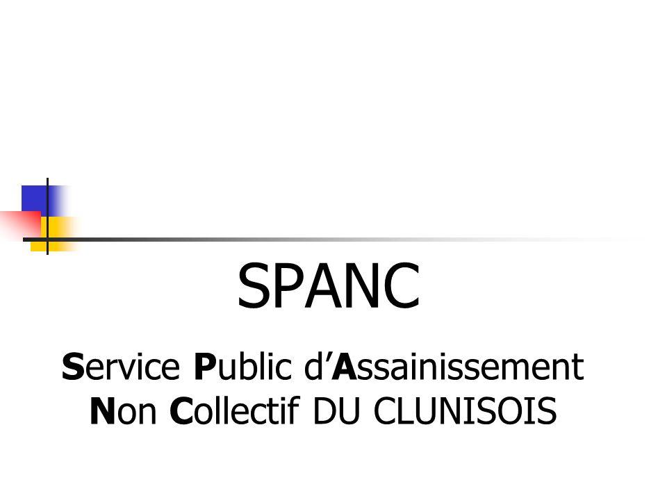 Service Public d'Assainissement Non Collectif DU CLUNISOIS