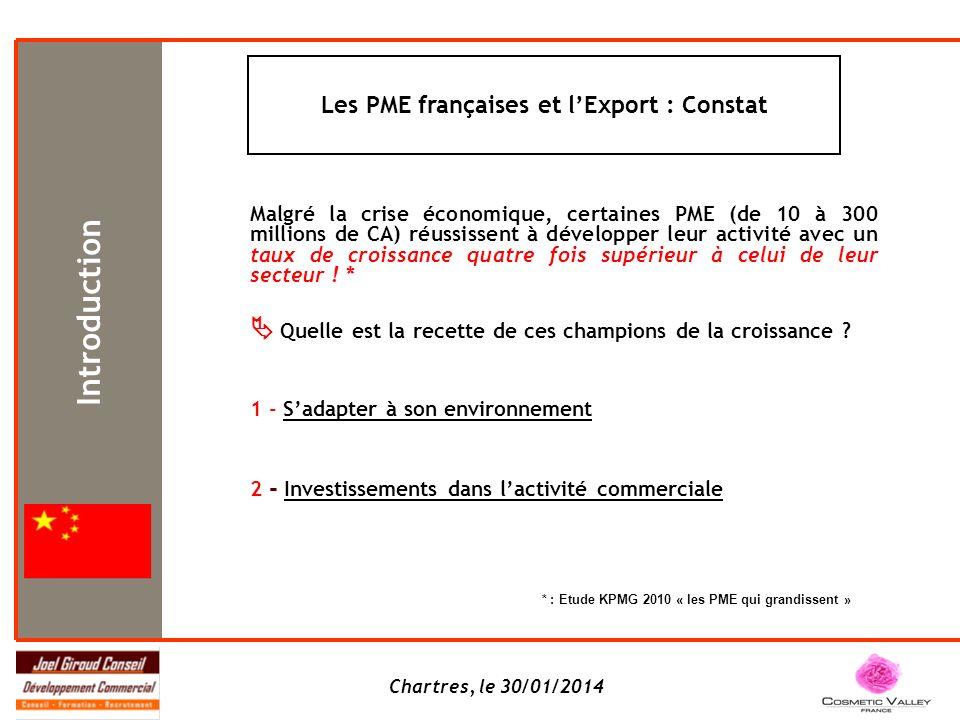 Les PME françaises et l'Export : Constat