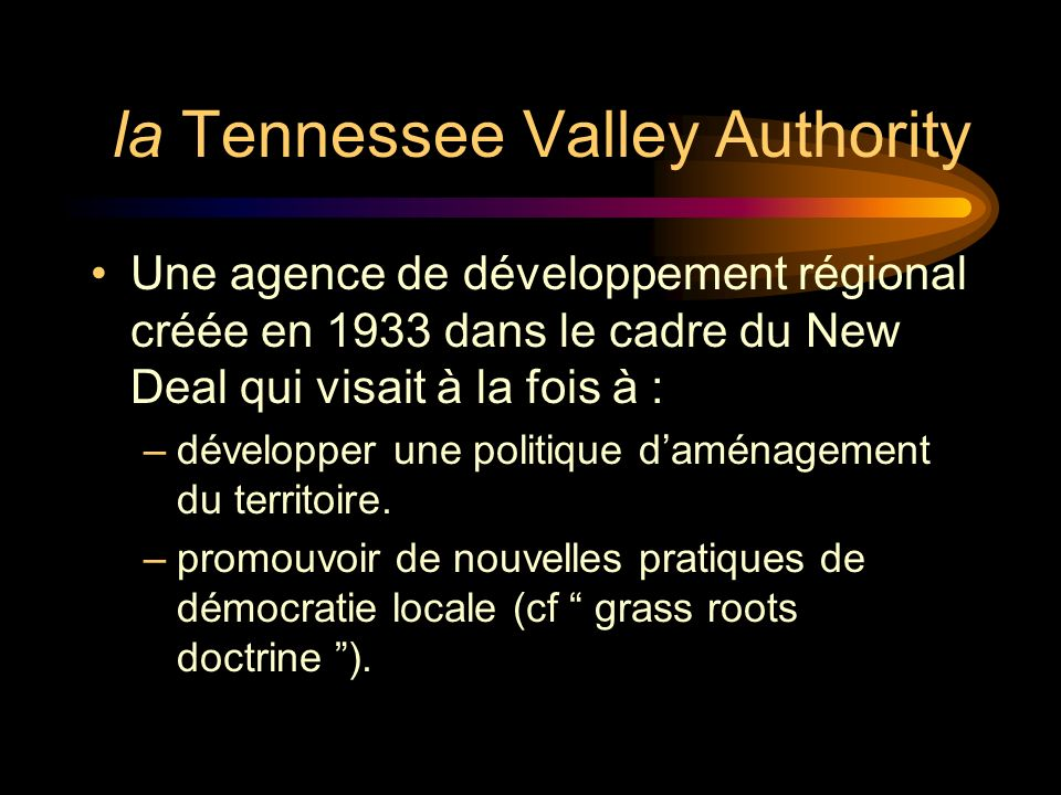 la Tennessee Valley Authority