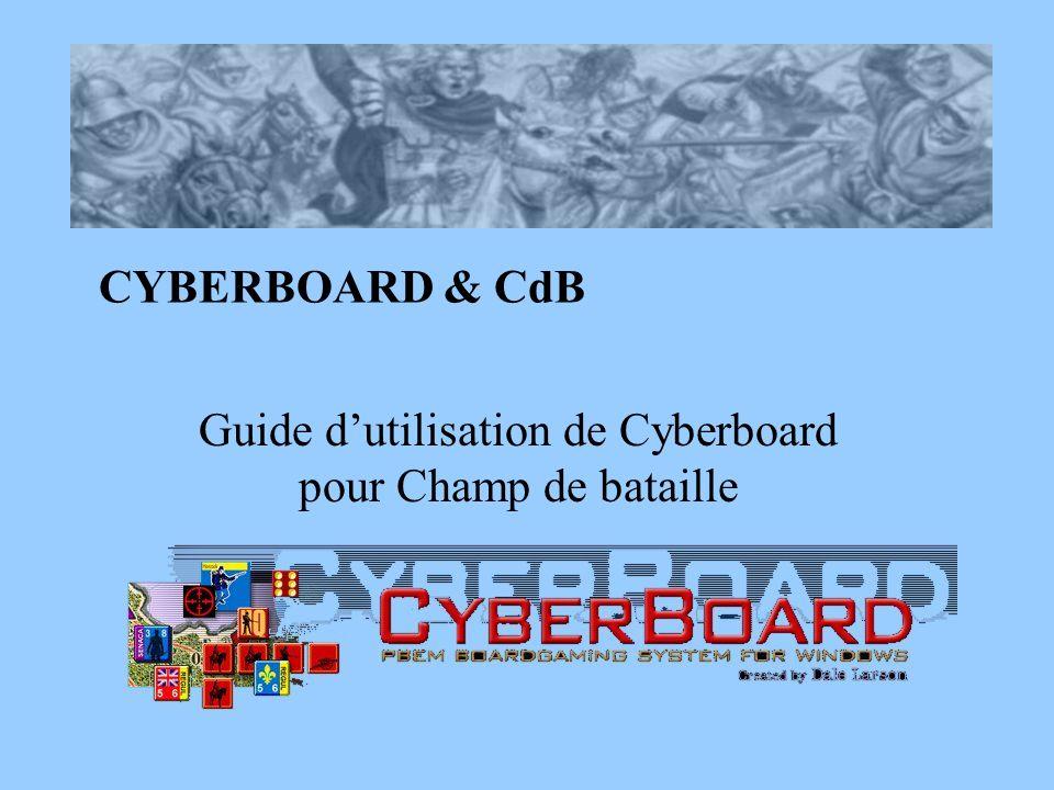 Guide d'utilisation de Cyberboard pour Champ de bataille