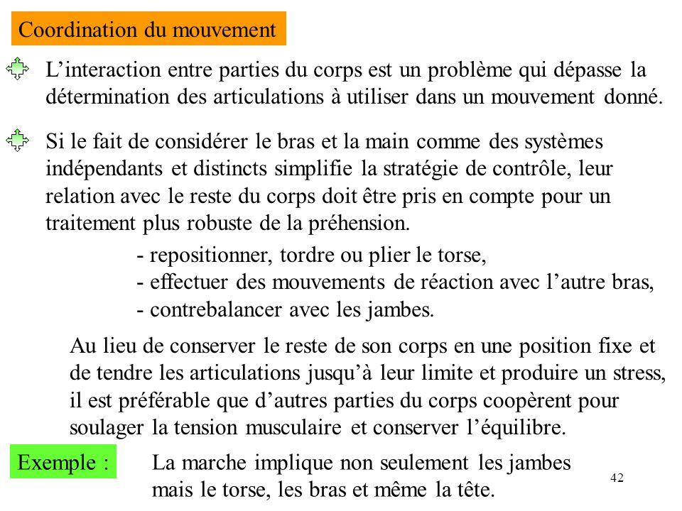 Coordination du mouvement