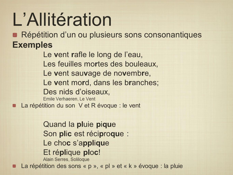 L Alliteration