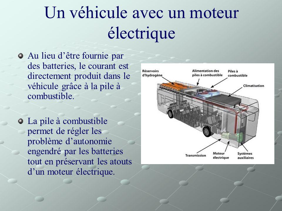 Un véhicule avec un moteur électrique