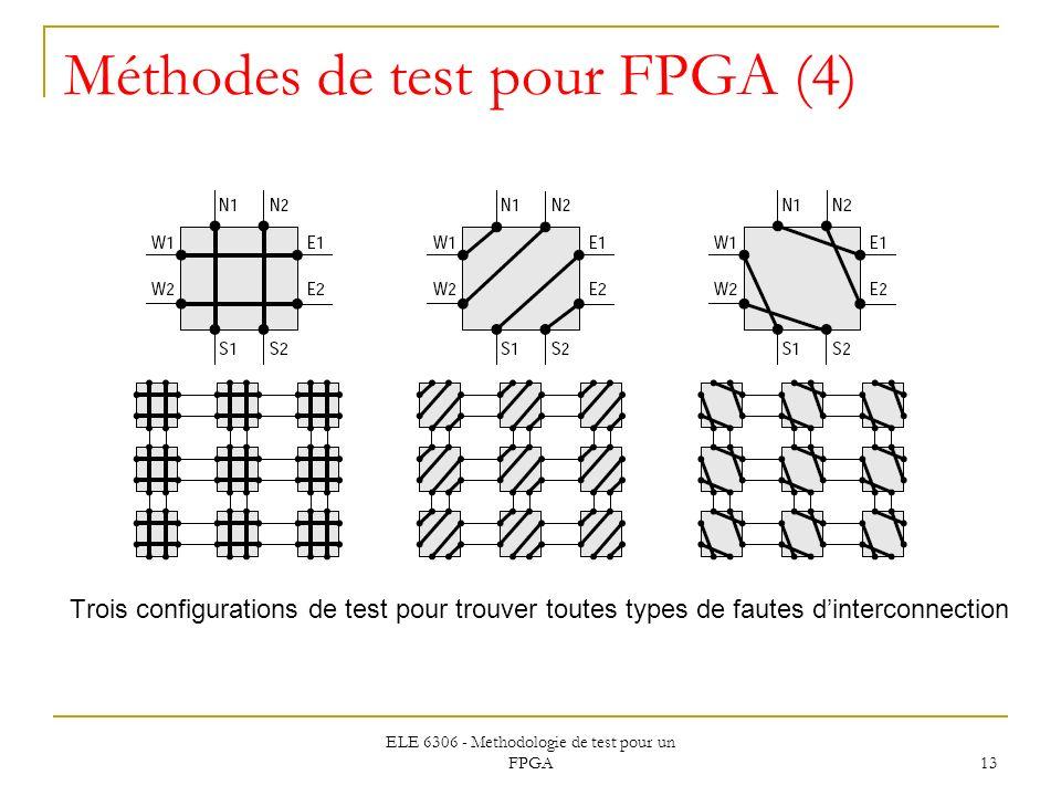 Méthodes de test pour FPGA (4)