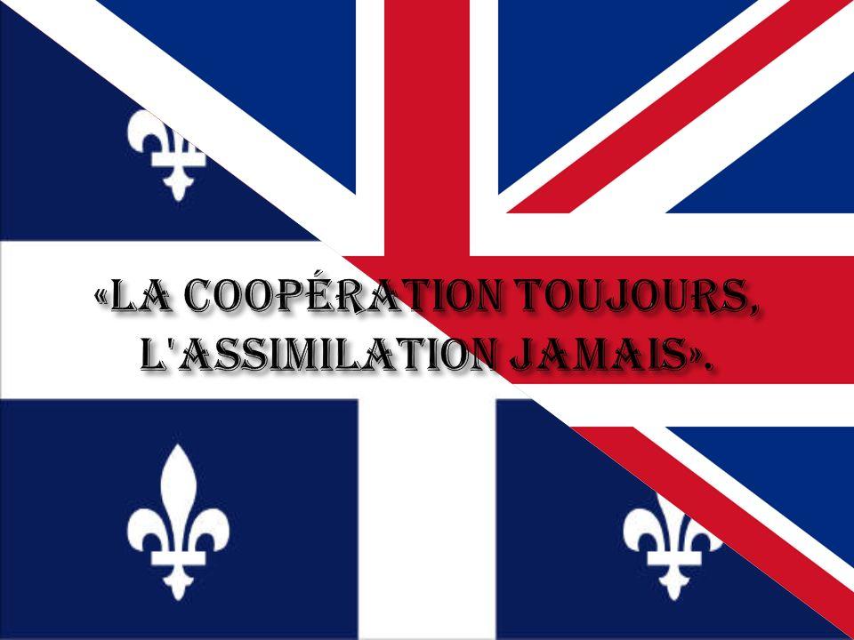 «la coopération toujours, l assimilation jamais».