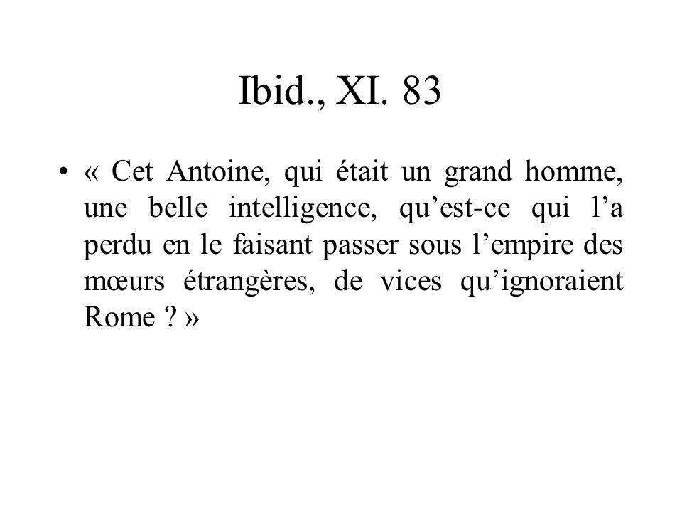 Ibid., XI. 83