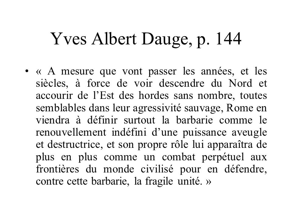Yves Albert Dauge, p. 144
