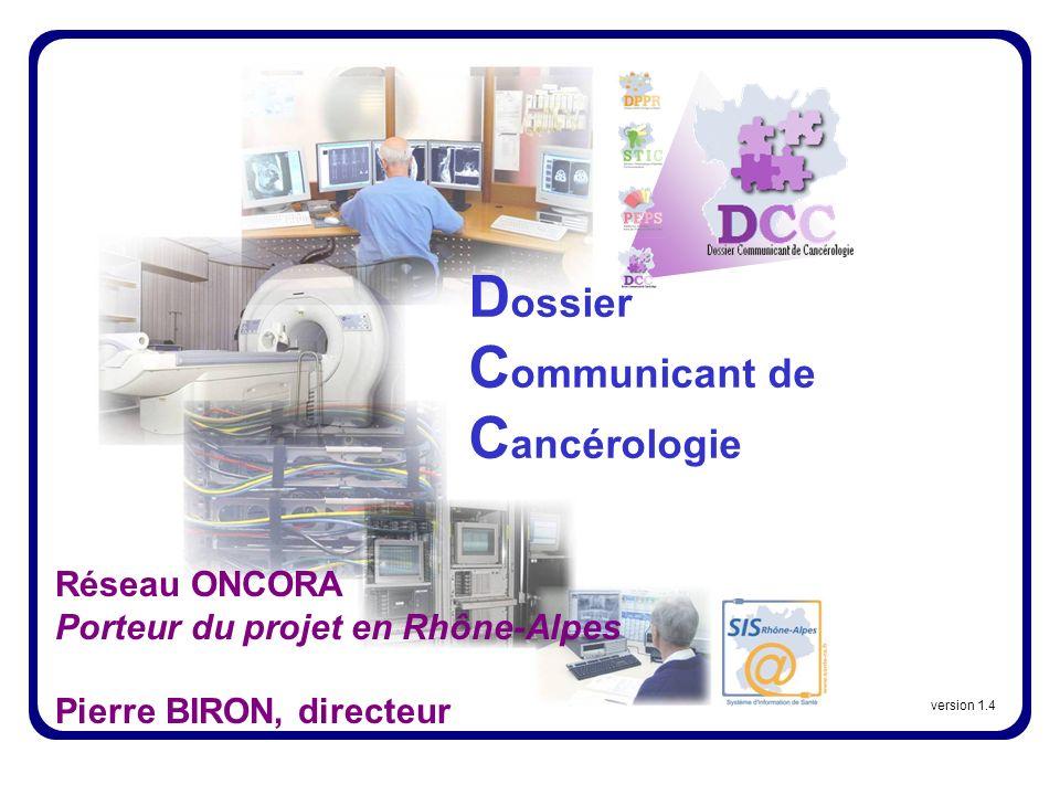 Dossier Communicant de Cancérologie