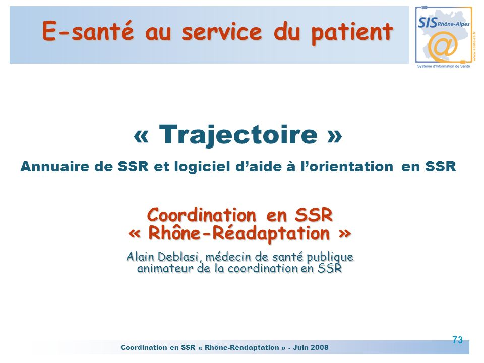 E-santé au service du patient