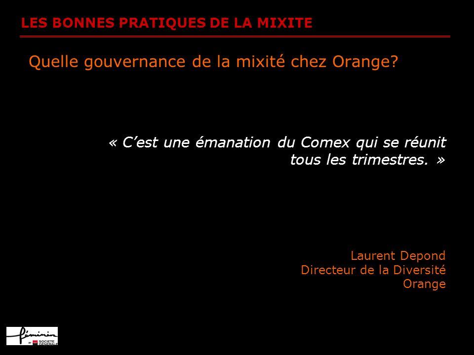 Quelle gouvernance de la mixité chez Orange