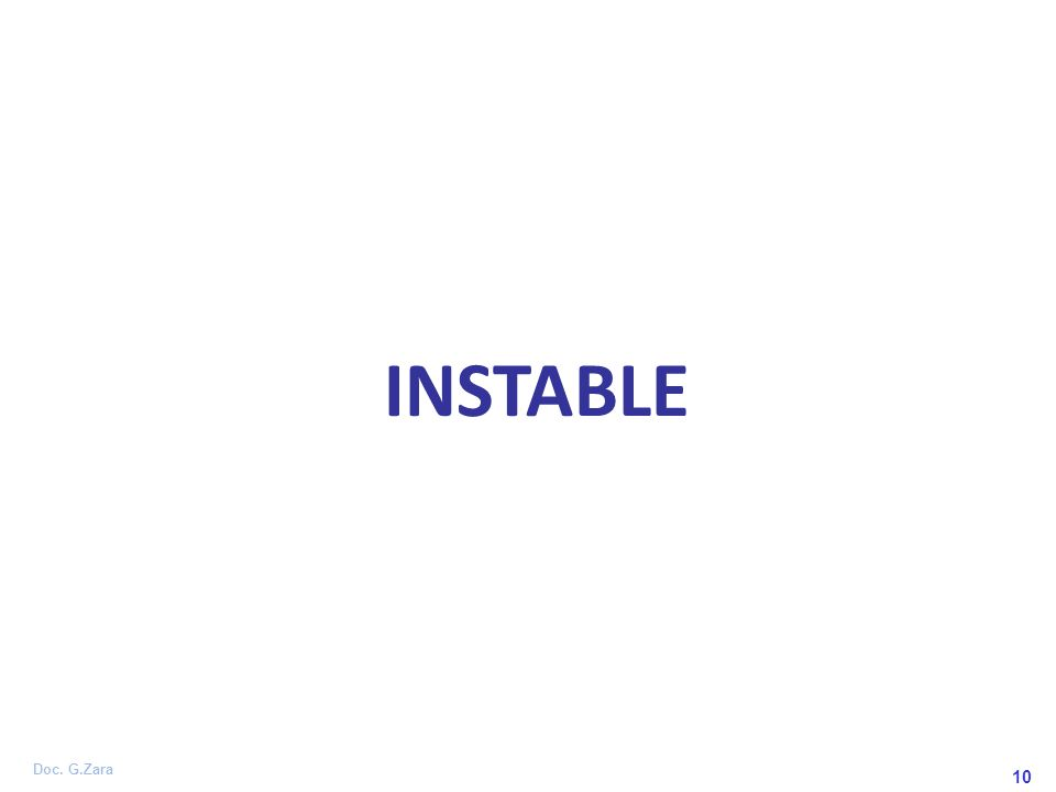 INSTABLE 10