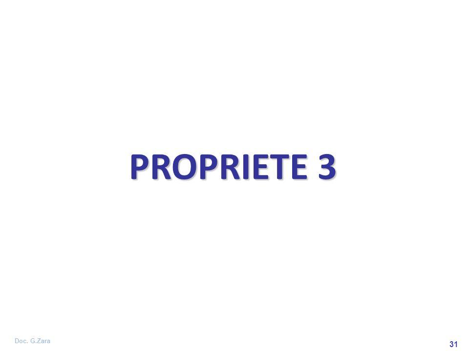 PROPRIETE 3 31