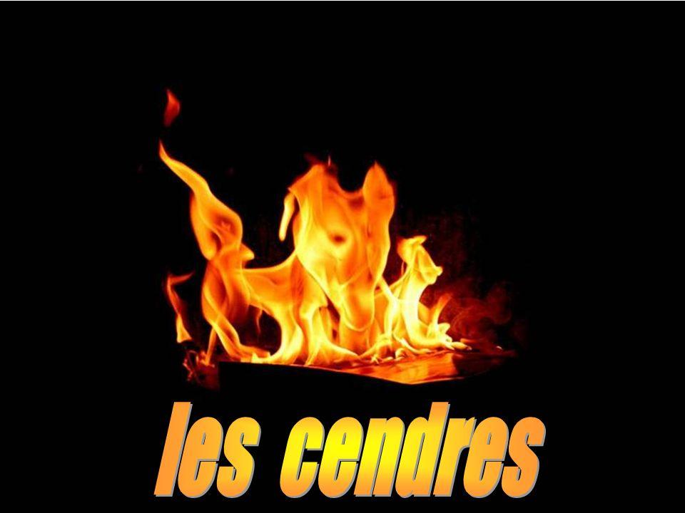 les cendres