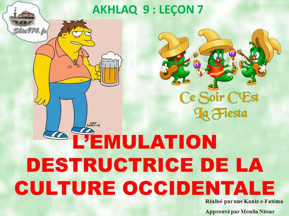 L'EMULATION DESTRUCTRICE DE LA CULTURE OCCIDENTALE