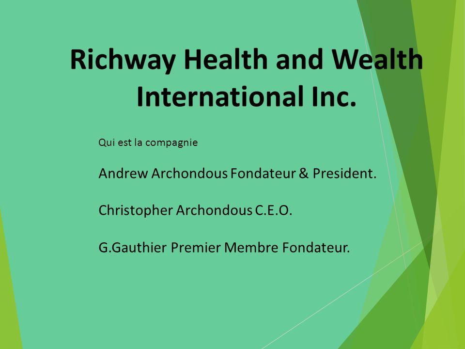 Andrew Archondous Fondateur & President. Christopher Archondous C.E.O.
