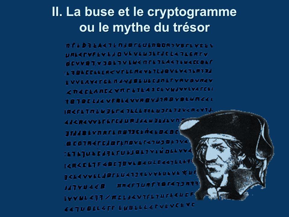 II. La buse et le cryptogramme