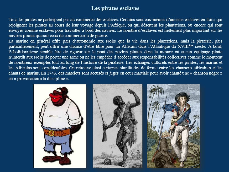 Les pirates esclaves