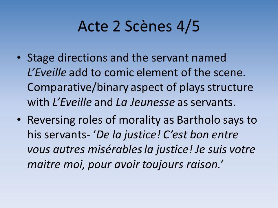Acte 2 Scènes 4/5