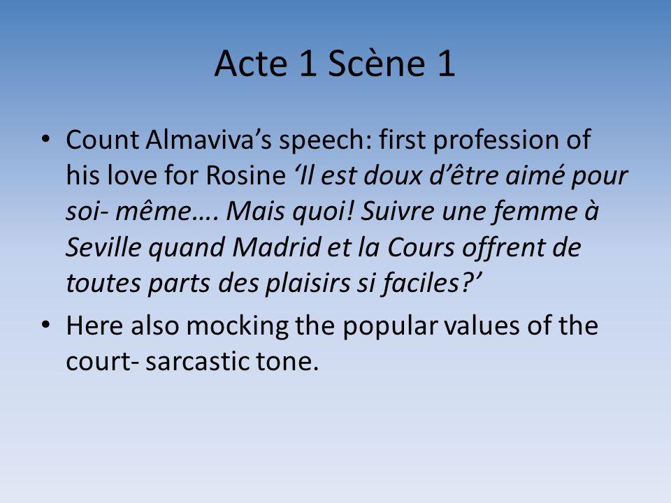 Acte 1 Scène 1