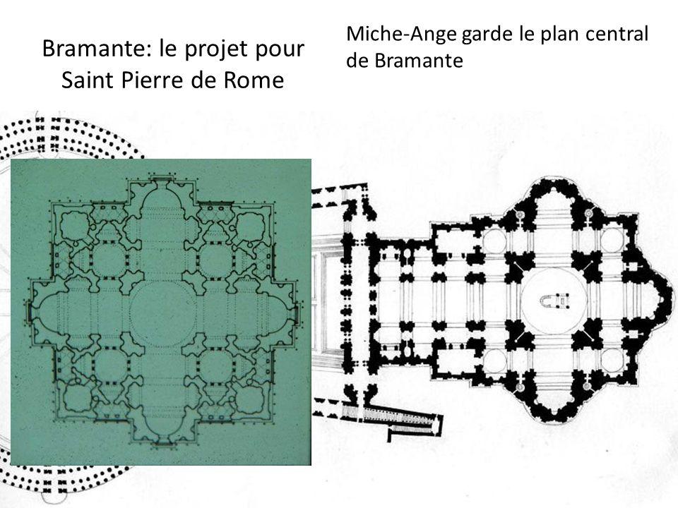 Bramante: le projet pour Saint Pierre de Rome