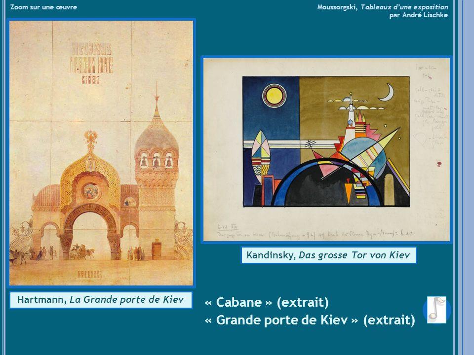 Kandinsky, Das grosse Tor von Kiev Hartmann, La Grande porte de Kiev