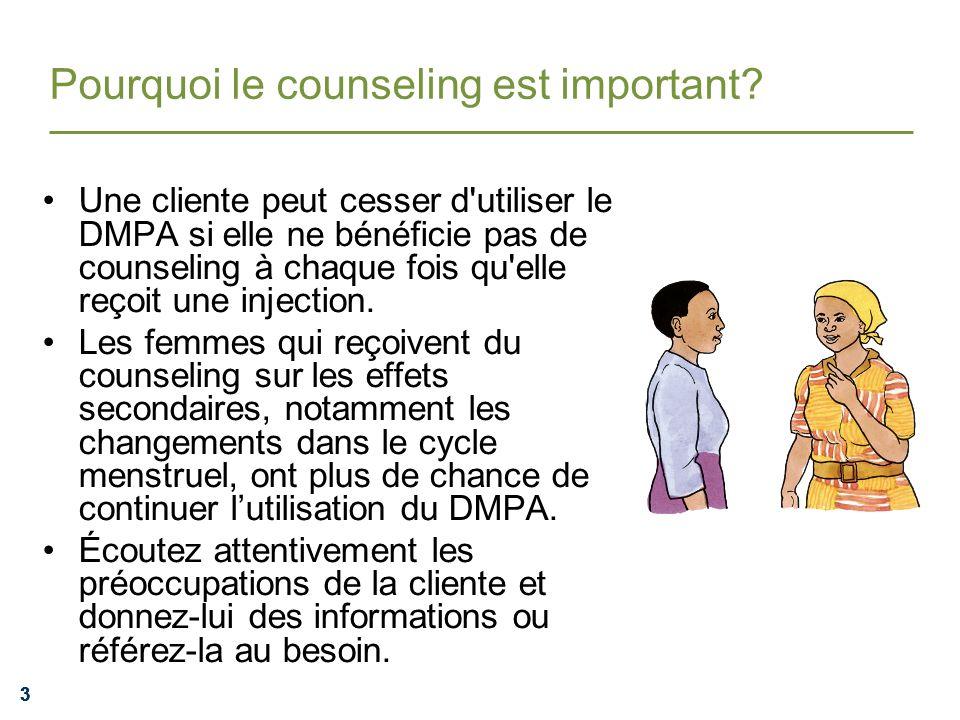 Pourquoi le counseling est important