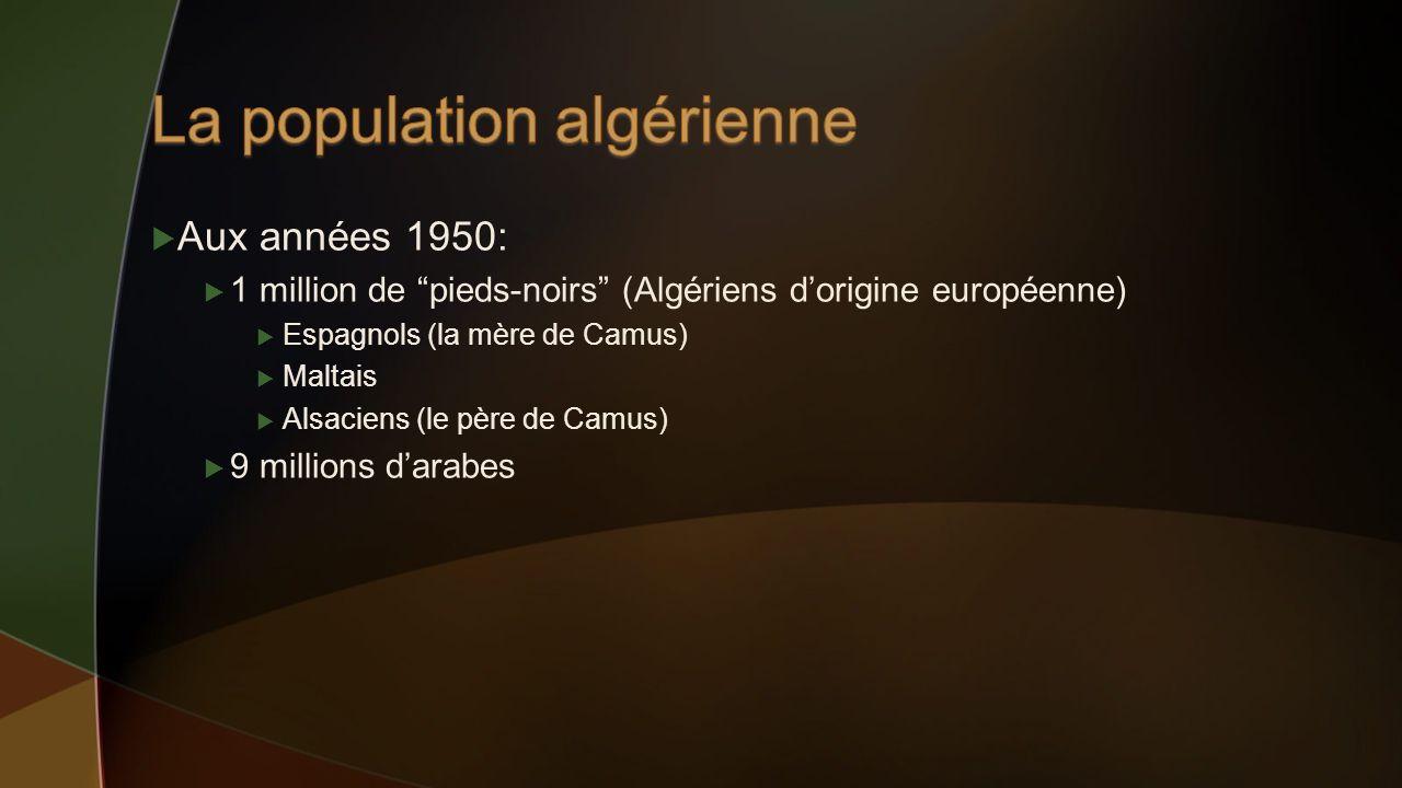 La population algérienne