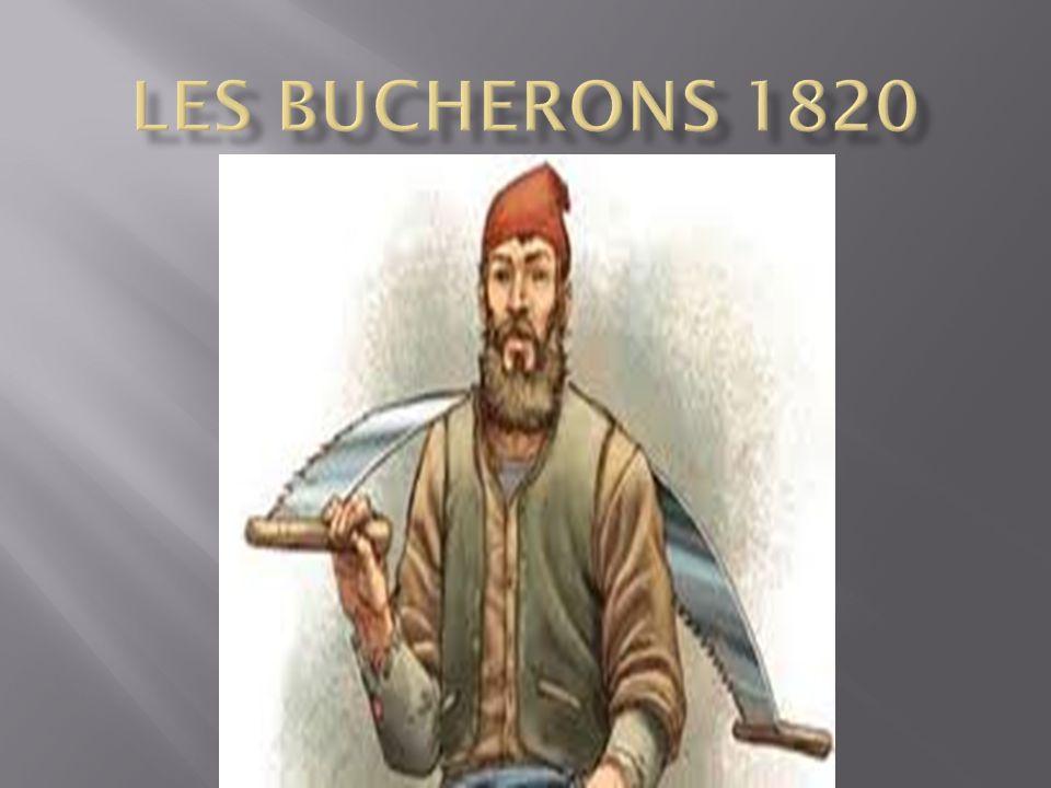 Les bucherons 1820