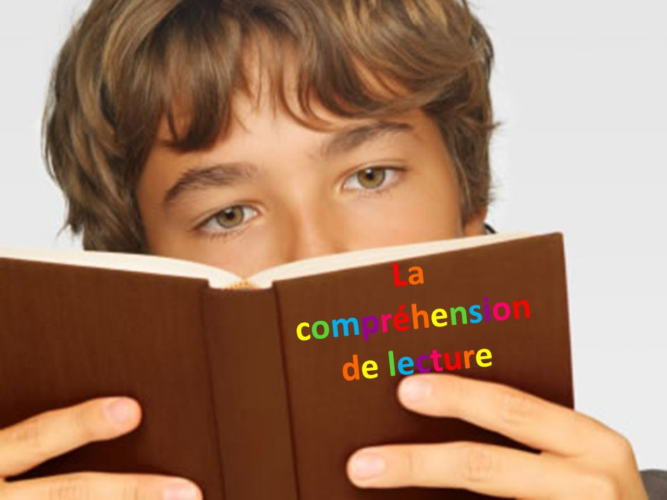 La compréhension de lecture
