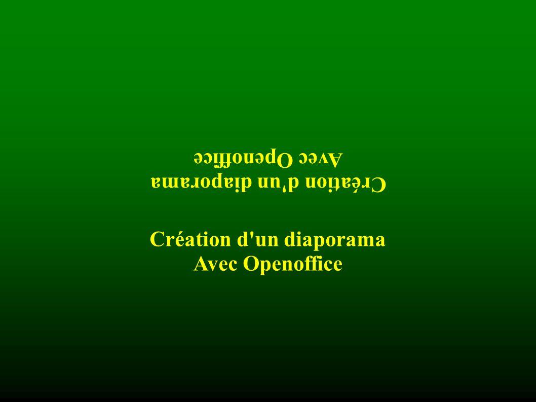 Création d un diaporama Création d un diaporama