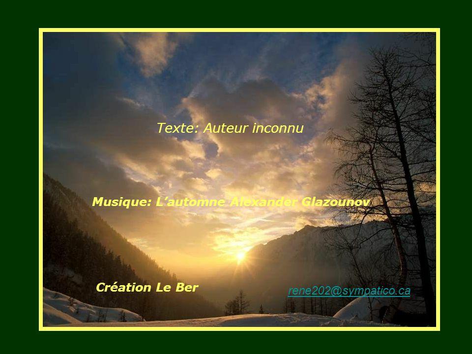 Texte: Auteur inconnu Musique: L'automne Alexander Glazounov