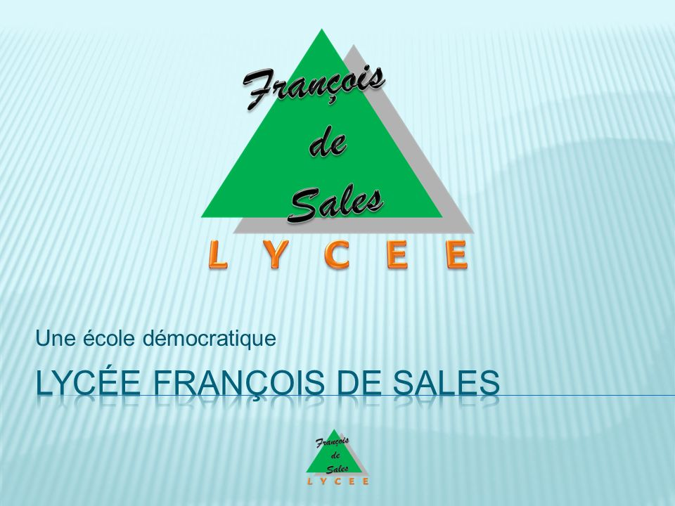 Lycée François de Sales