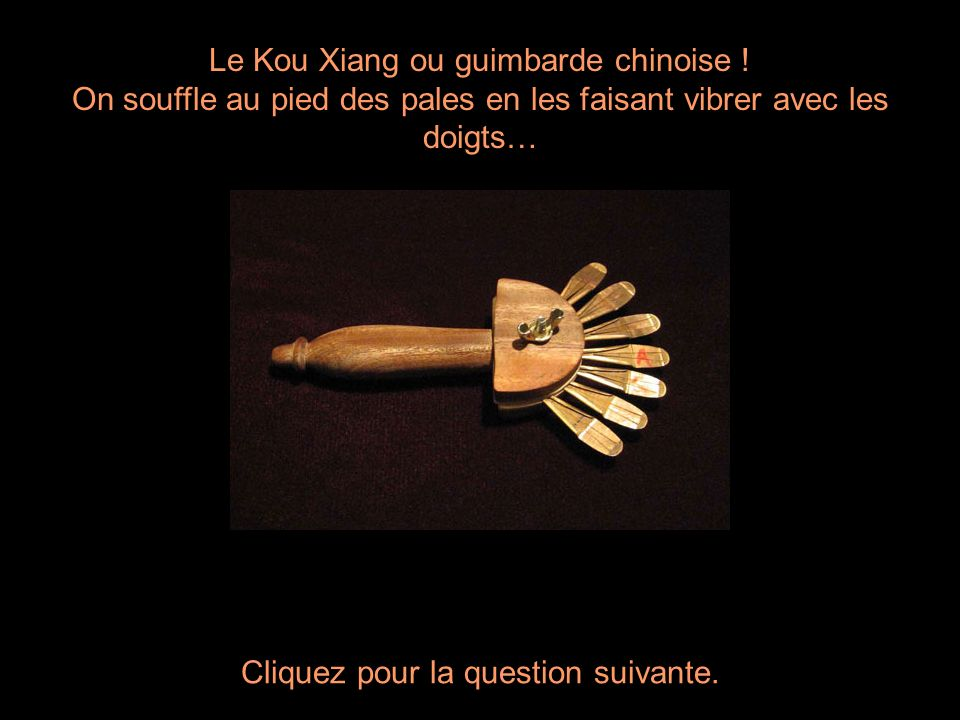 Le Kou Xiang ou guimbarde chinoise !