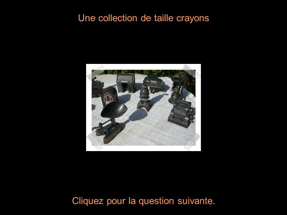 Une collection de taille crayons