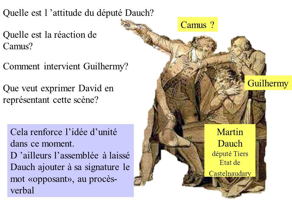 député Tiers Etat de Castelnaudary
