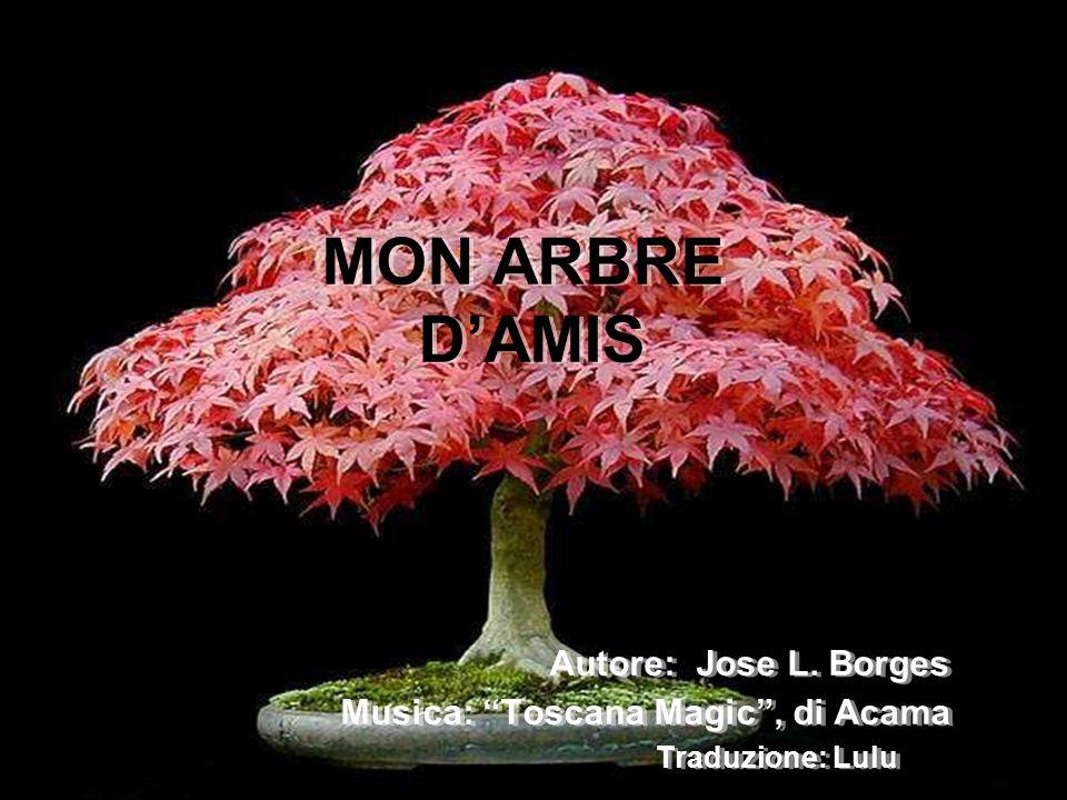 MON ARBRE D'AMIS Autore: Jose L