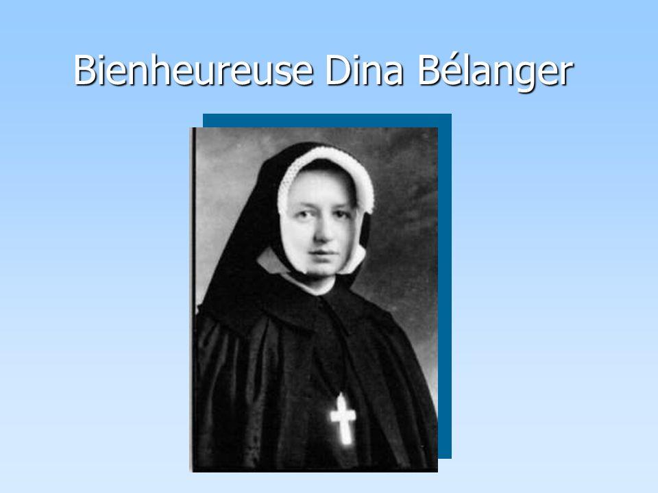 Bienheureuse Dina Bélanger